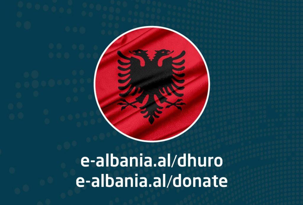 donate for albania photo
